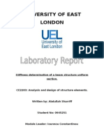 material test laboratory report