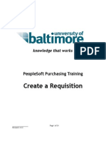 How to Create Requisition in PS v9.1. 1-4-13v2