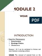 Wear - Module 2