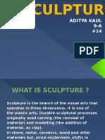 presentation on sculpture