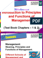 Managment Principles