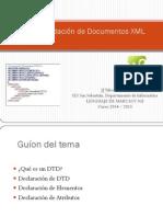 Unidad Didáctica 6.1 Validación de documentos XML