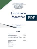 DickzoИ AЯIAS Libro Para Maestros
