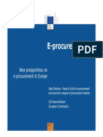 New Prespectives on Eprocurement in Europe - Alain Deckers