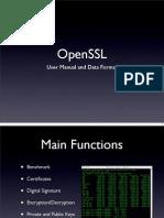 [slides] OpenSSL - User Manual and Data Format