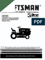 Craftsman GT 6000 Lawn Tractor