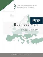EUROAVIA Business Plan 2006-2007