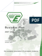 EUROAVIA Business Plan 2007-2008