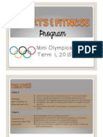 sports and fitness program term 1
