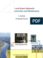 CE-311 2 Sewers and Sewer Netwrok- Design Construction and Maintenance