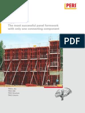TRIO Brochure Hq En | Scaffolding | Pallet