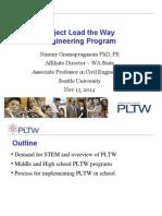Engineering PLTW CC 2014