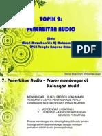 9.0 Penerbitan Audio-sendiri