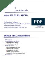 Analsi Bilancio 2012-13 Elettronici- Pisa