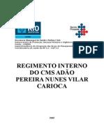 Regimento Interno 2015 CMS Adão Pereira Nunes.doc