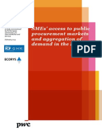 Smes Access and Aggregation of Demand En