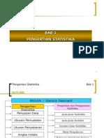 Bab-i (Pengertian Statistika)