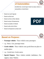 Classification of Automobiles