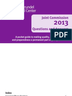 2013 Joint Commission Booklet Final