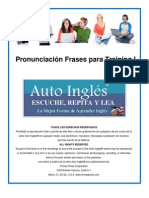 6 Auto Ingles Pronunciacion Frases Para Training I