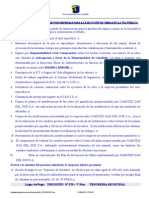 Requisitos Apertura Zanja-Año 2010
