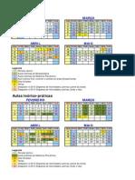 14-15 Modulo III-II Calendario