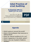 The Global Practice of Internal Auditing - As Business Officers What's in It for You_by_Brian Brown