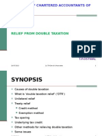 Elimination of Double Taxation