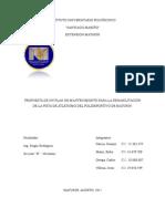 Plan de Mantenimiento , Cancha2011 Env