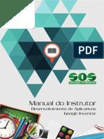 Manual Do Instrutor - Desenvolvimento de Aplicativos - Google Inventor