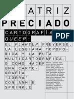 Preciado - Cartografias Queer