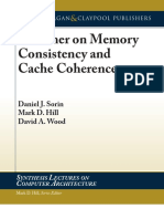 A Primer on Memory Consistency and Cache Coherence