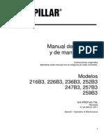 Manual Operador Minicargador 247b3 Serie Tsl