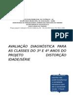 Avaliação Diagnóstica Para o Projeto de Distorção 2015