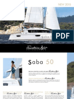 Founataine Pajot Saba 50 Brochure