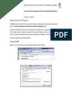 Guía Rápida CalcDep 1.0