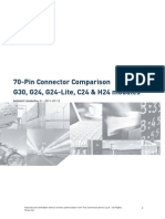 Telit 70-Pin Connector Comparison Application Note r0