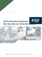 Telit 70-Pin Connector Comparison Application Note r0