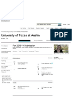 College Search - University of Texas at Austin - UT