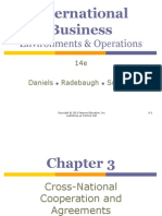 Chapter 4 - Cross Nation Coperation and Agreements