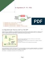 Les Principes de Régulation _ P - PI - PID