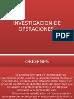 Investigacion de Operaciones Clase 1