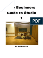 The Beginners Guide to Studio 1