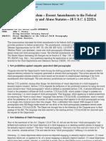 criminal resource manual 2467 keeney memorandum -- recent amendments to the federal child pornograph