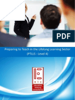 OCR PTLLS Level 4 Preparing to Teach in the Lifelong Learning Sector Teaching and Training Course