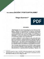 Guerrero - Globalización y Postcapitalismo