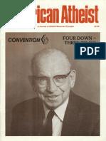 American Atheist Magazine June 1985