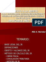 Actualizacion Tributaria RENTA 2015