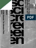 Screen - Volume 15 Issue 2