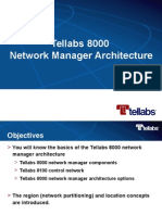 K03 Tellabs 8000 Network Manager Architecture